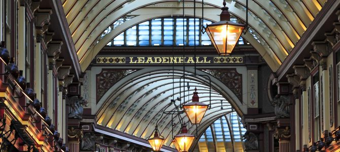 Explore Leadenhall Market with the Montcalm at Brewery London City