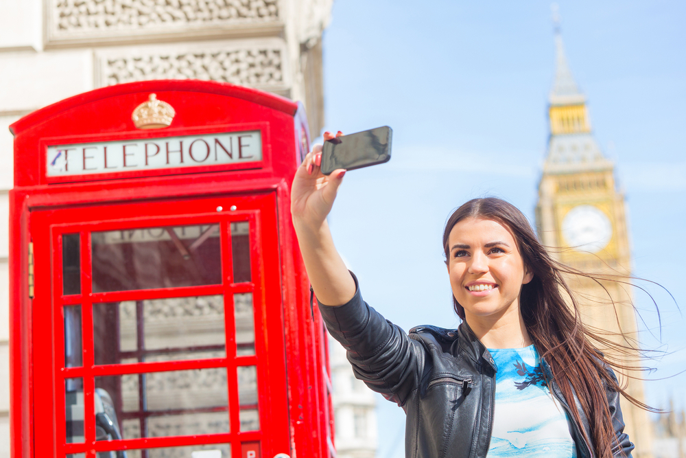 selfie place in london
