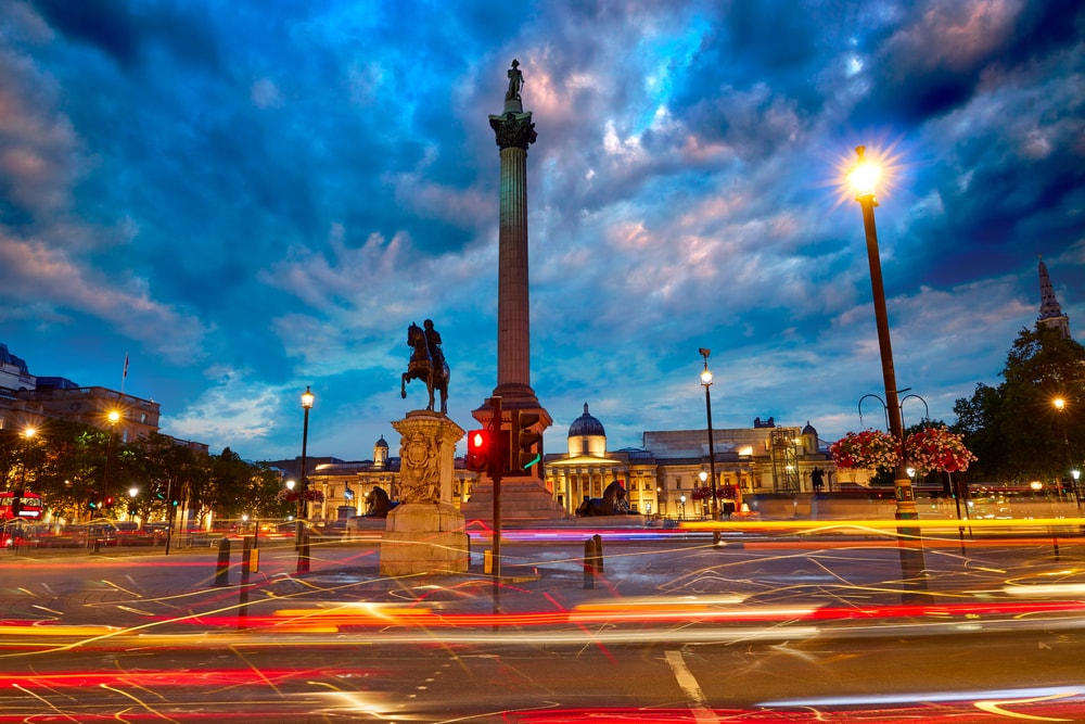 Nelsons Column London