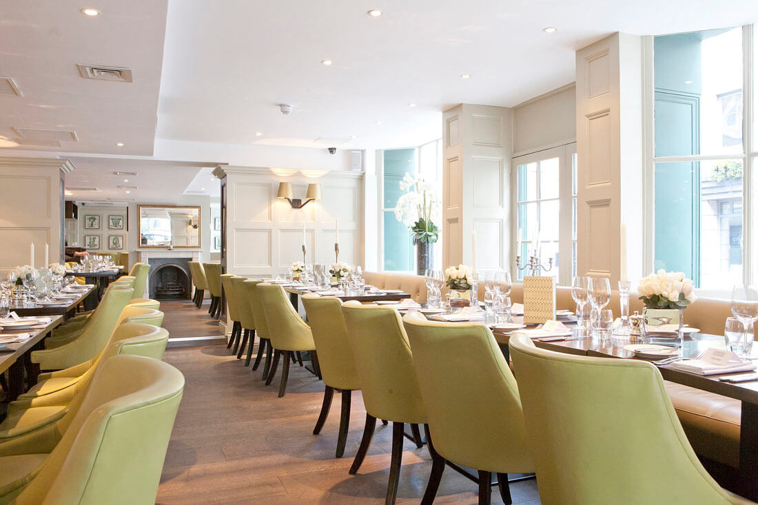Chiswell Street Dining Rooms at The Montcalm at The Brewery London City