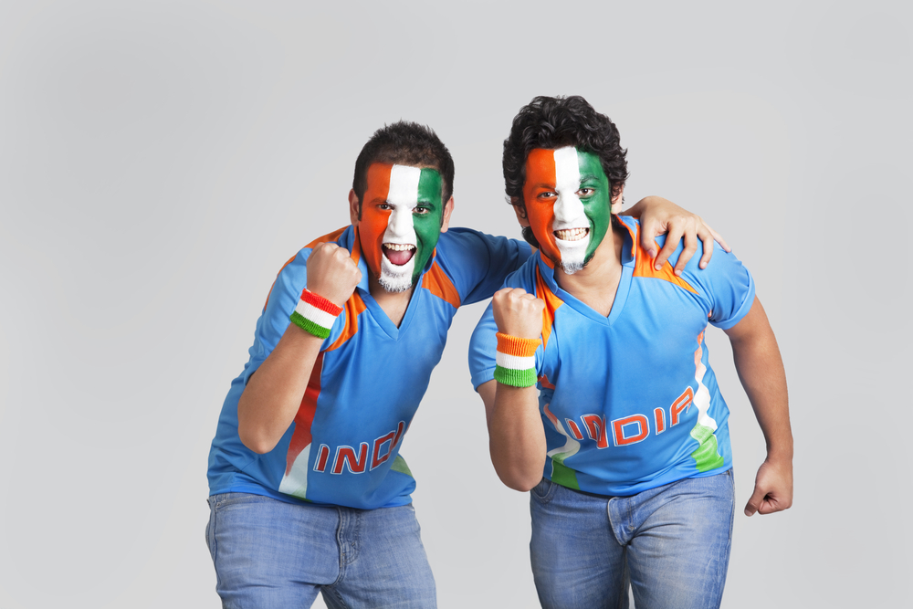 India supporters
