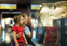 Children in museum