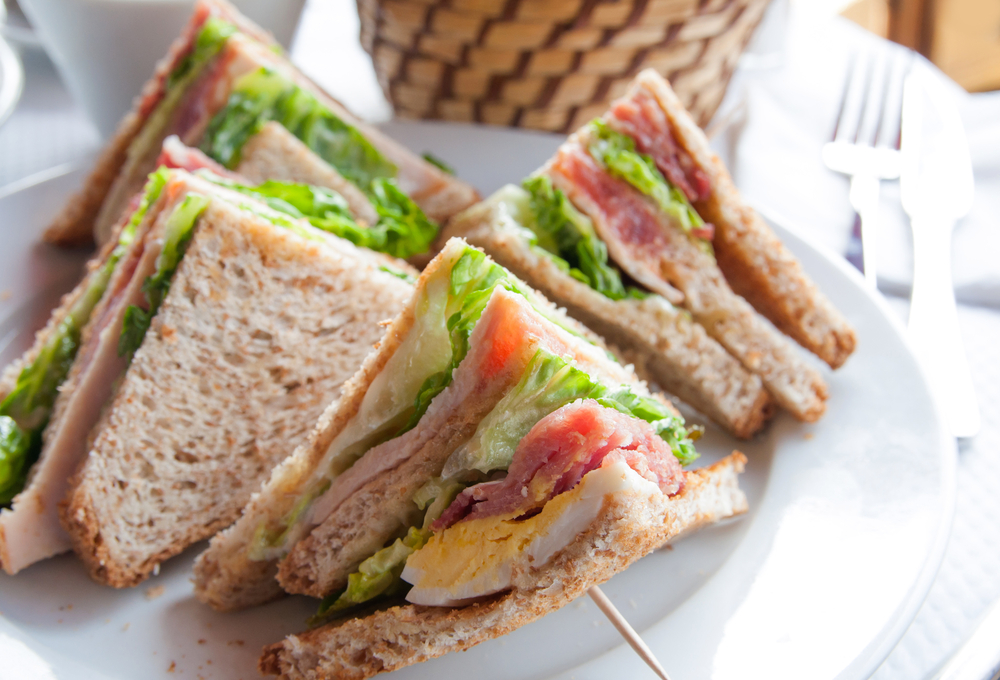 Sandwiches in lunches