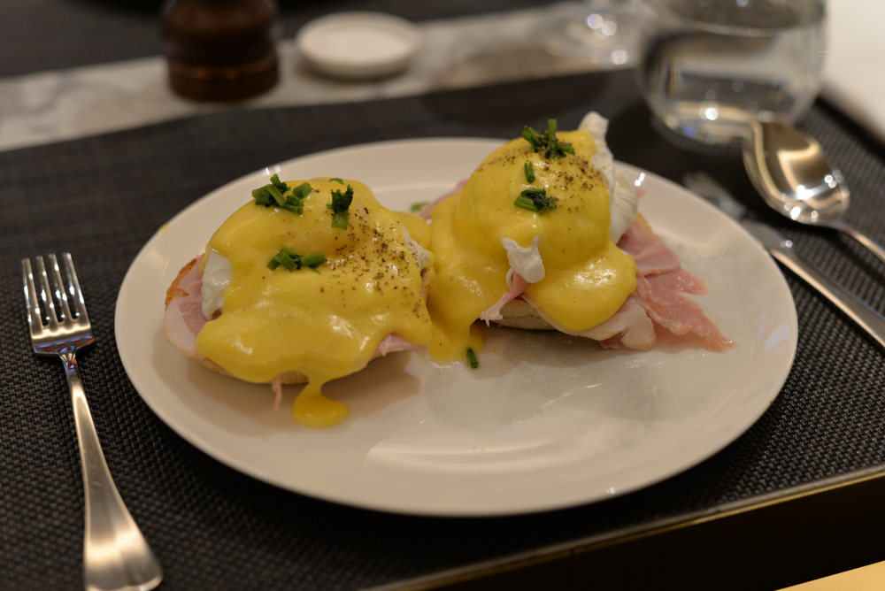 Eggs breakfasts in London