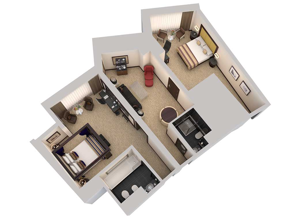 3D Floor Plan Gallery