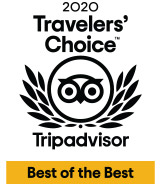 Three Trip Advisor Awards 2